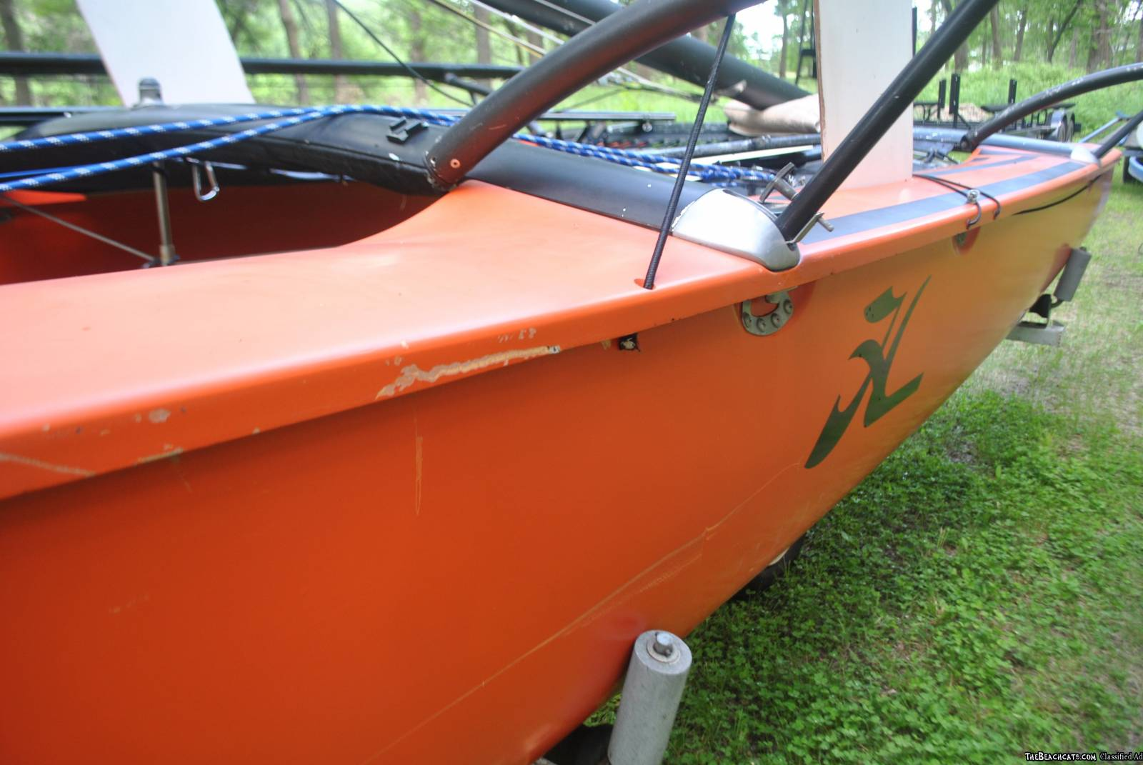 1978 Hobie 18 with SX Wings  Upgraded! With trailer