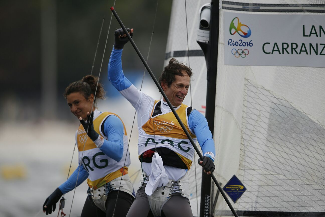Santiago Lange and Cecilia Carranza Saroli (ARG) have won gold