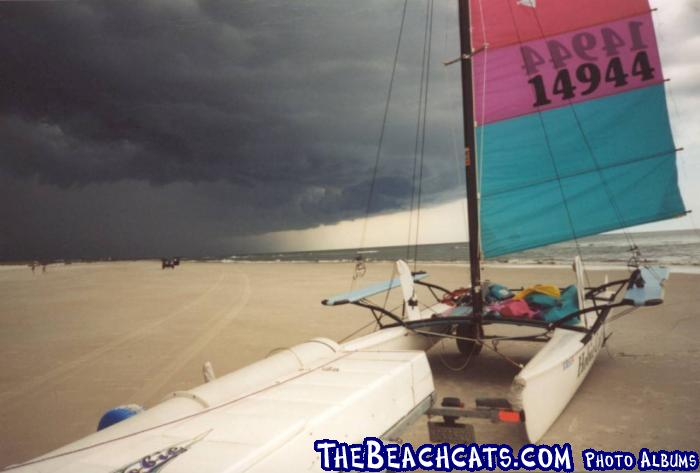 SPRING STORM at Crescent Beach