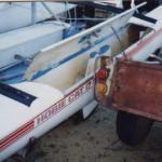 Hobie 17 Deck Rip