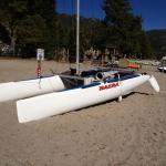 nacra on tahoe beach