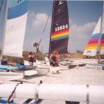 MORNING - SATURDAY - 3 Hobies at Jax BEACH