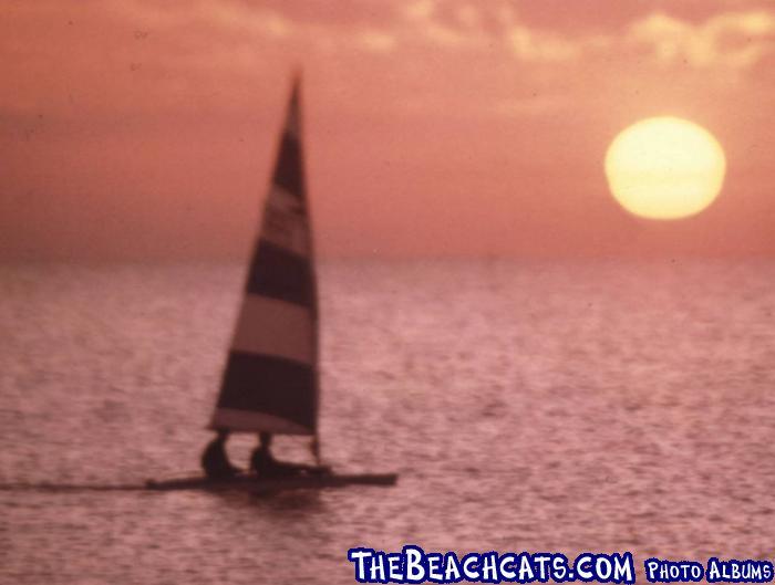 Alcort Catfish Sunset