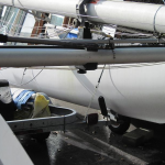 Nacra 5.7 cross beam damage