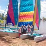 Adair Family Cat sailing