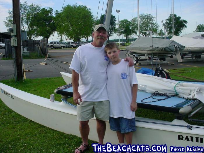 Jerome & Daniel Vaughan-Holiday In Dixie Regatta Shreveport LA-4/24/04