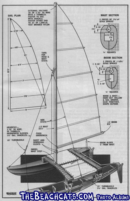 Hobby-Kat-MI-Dec73-p5 :: Catamaran Sailboats at TheBeachcats.com