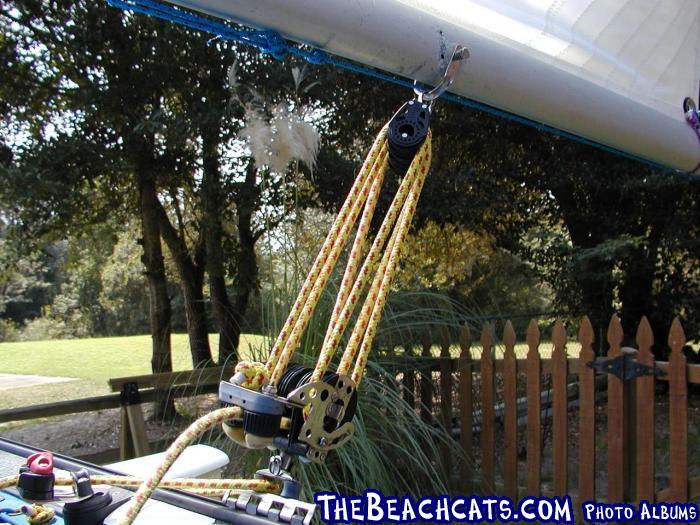 Hobie 14 Main Blocks Catamaran Sailboats At Thebeachcats