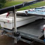 $8.00 DIY Removable Rear Mast Cradle