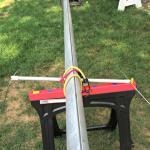 Nacra 5.0 Spreader Safety Wire