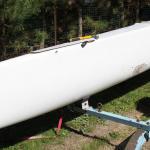 Nacra 5.2 forward deck removal