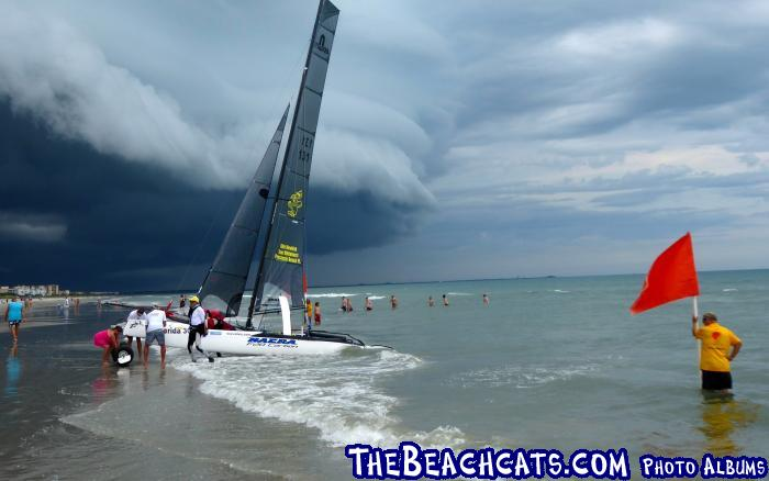 Storm Clouds Move In At Cocoa Beach