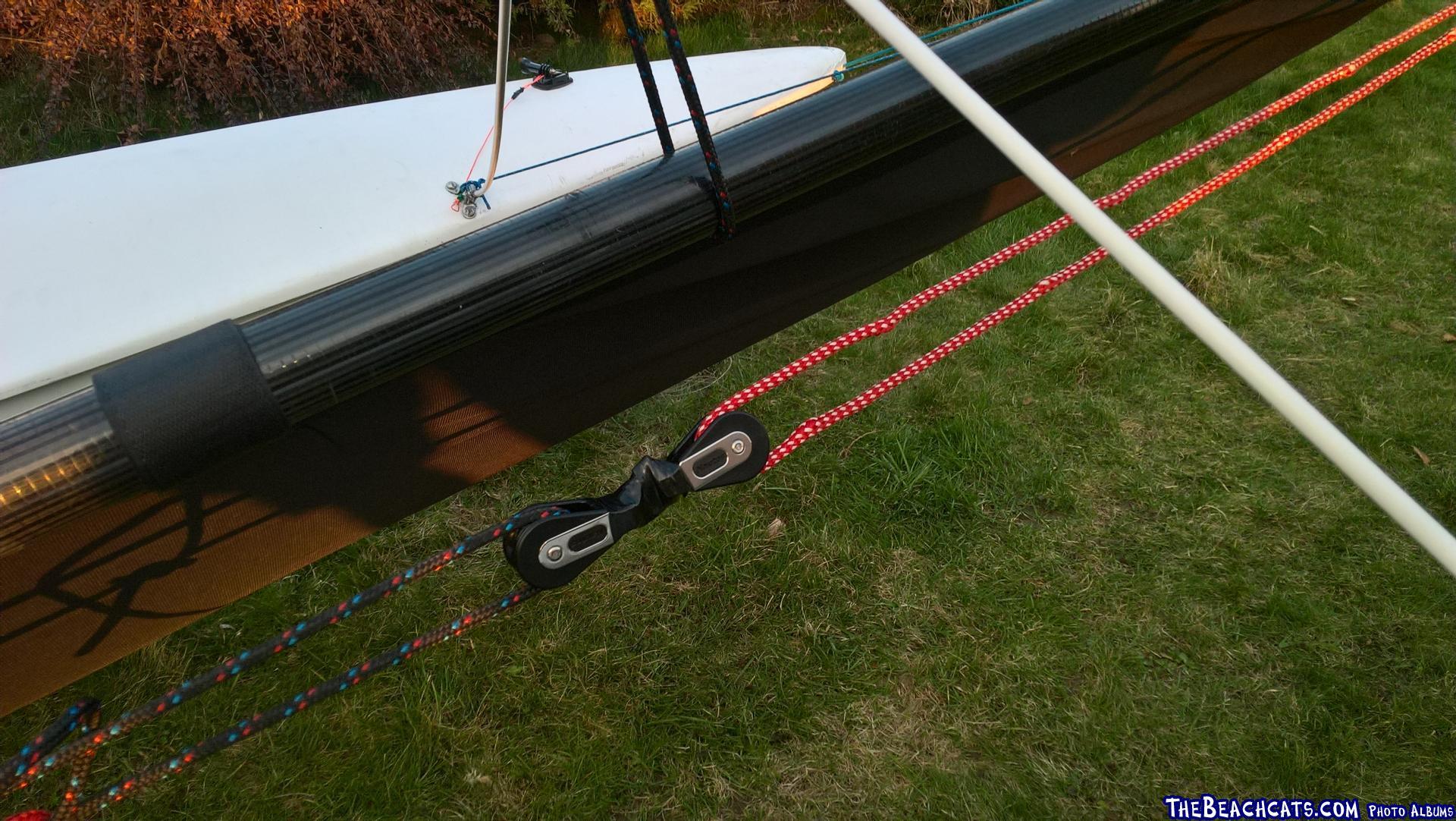 One line system for hoisting
