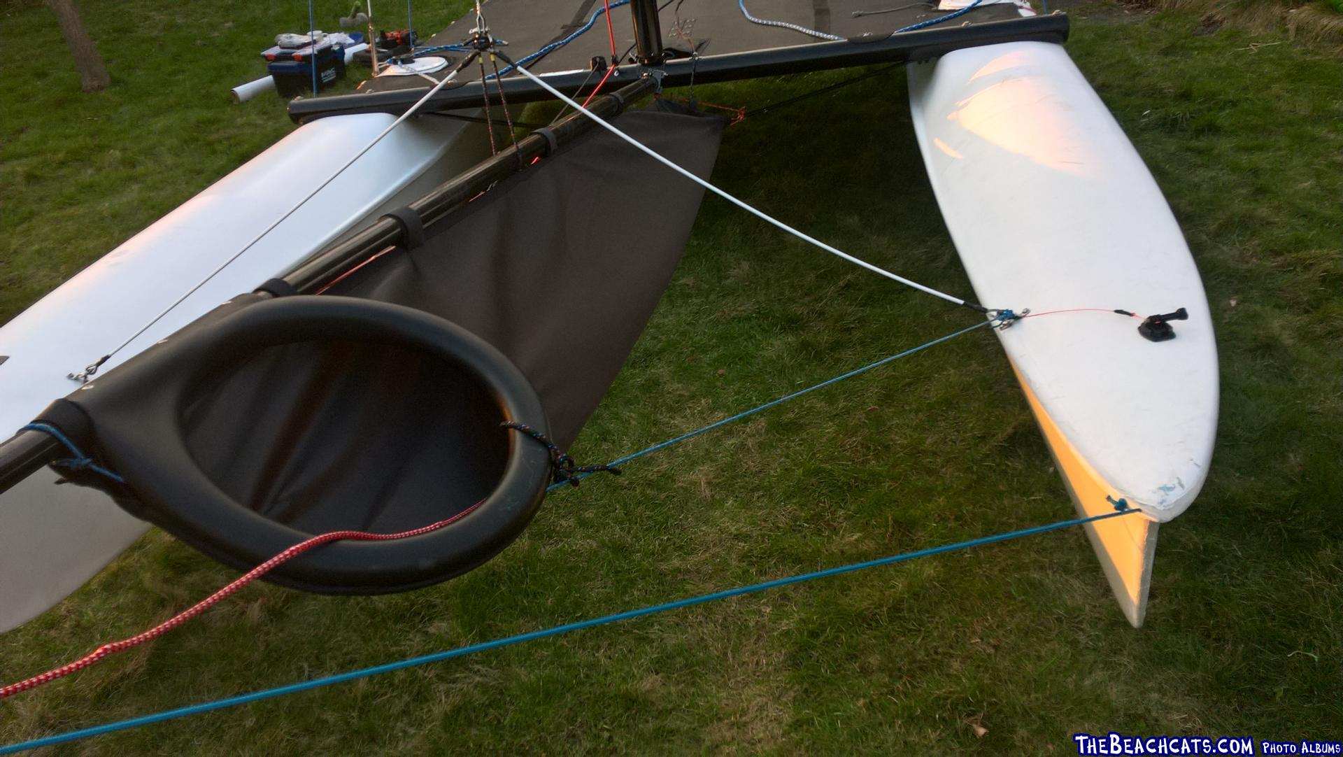 Snuffer comes from Nacra F18