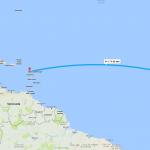 Dakar to Guadeloupe