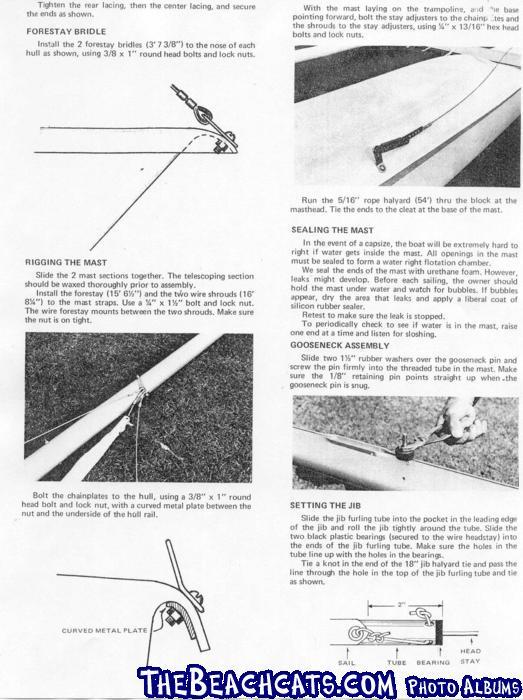 Venture 15 straight hull manual Page 2 :: Catamaran