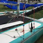 Nacra Inter 20 Aft Downhaul