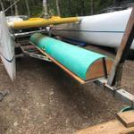 Half-tube sailbox