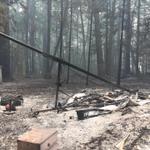 Hobie Burned in California Wildfire