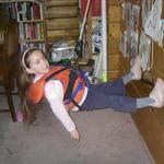 Homebrew kids' trapeze harnesses