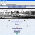 The Web Site home page