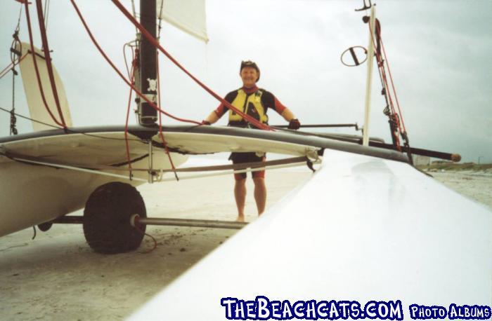 PAUL with HOBIE 18 - Jacksonville Beach