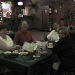 Marina, Bob, Sonny and Laura at dinner Sorry poor quality shot