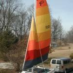 Original logo and sails