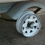 We all carry a spare, but is it inflated, and did you bring a lug wrench, and a trailer jack?