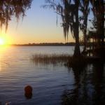 Sunsetting on Lake Thonotosassa