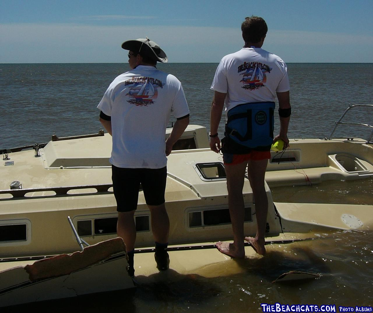 """Will and Philip in Pensacola """"Wrath of Ivan"""""""