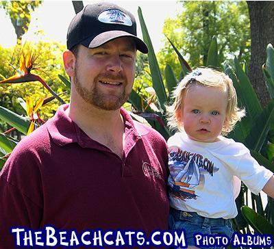 Beachcats Hat and Childs Onesie