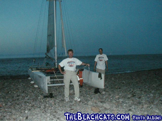 Gary and Bill on Santa Cruz Island, CA