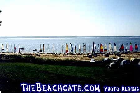 Beachcat lineup