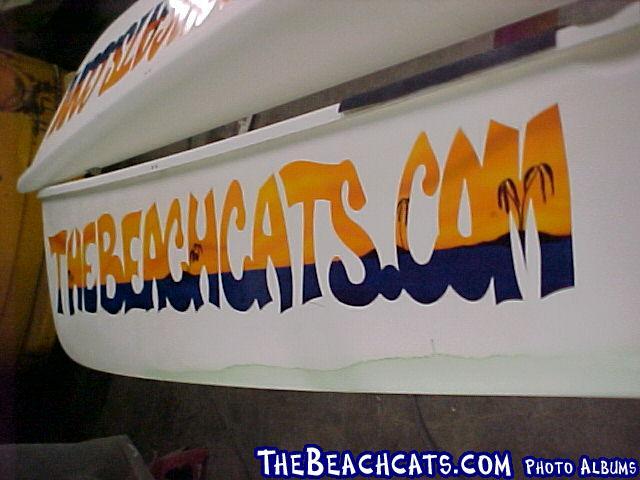 The official Hobie 18 Magnum of TheBeachcats.com!