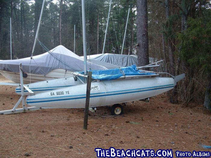 Sizzler 16 :: Catamaran Sailboats at TheBeachcats com