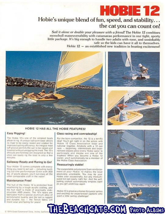 Hobie Monocat Brochure Page 2
