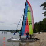 2000 Hobie Sport 17, Higgins Lake MI