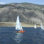 JOHN ZUPAN of Osoyoos, trying to find his way to the frist mark.