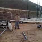 Nacra Tipped Over 3