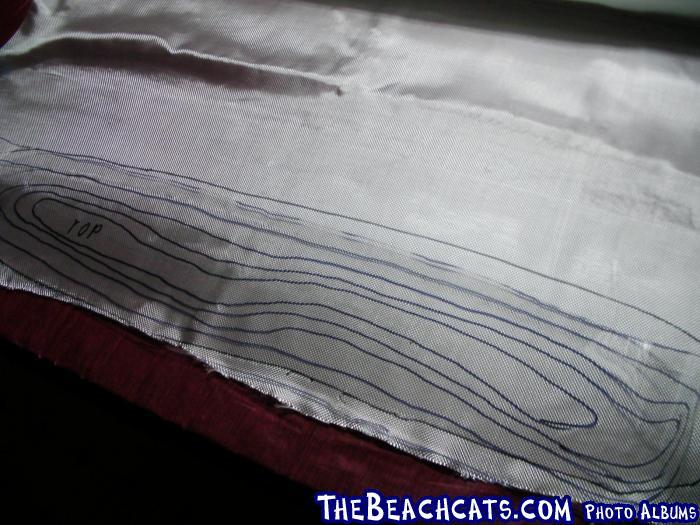Cutting Fiberglass Cloth Layers