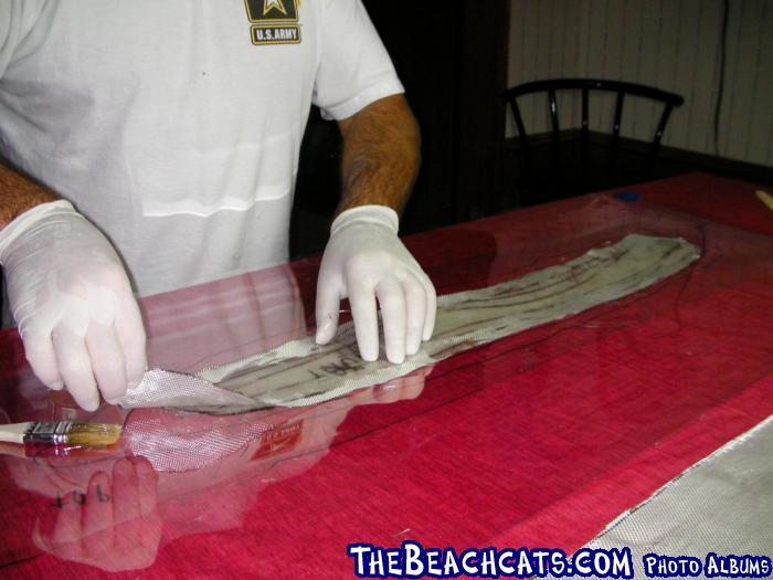 Wet Fiberglass Cloth