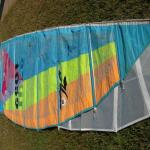 Hobie 18 stock and squaretop sail compared