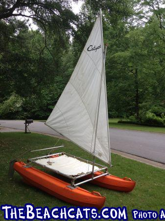 Catyak from Craigslist :: Catamaran Sailboats at TheBeachcats com