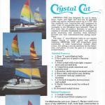 Crystal Cat 15 Sales Sheet