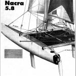 Sailing World 1994, Nacra 5.8 Rig and Tune