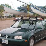 """Delivering a Hobie 3.5 the """"easy"""" way."""