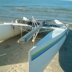 Rough day on calm Lake Ontario water
