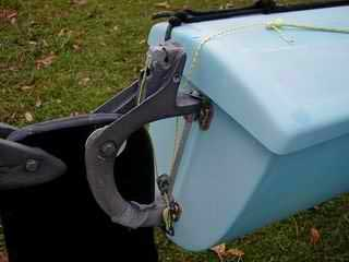 Quick Release System For Old Style Hobie 18 Rudders